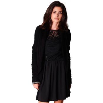 Vêtements Femme Gilets / Cardigans Le Temps des Cerises Cardigan  Belinda Black 38