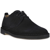 Chaussures Homme Richelieu Clarks DESERT LONDON BLACK Nero