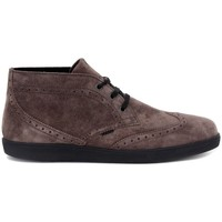 Chaussures Homme Baskets basses Frau SUEDE BLU Marrone