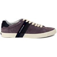 Chaussures Homme Baskets basses Tommy Hilfiger SNEAKER  GREY Multicolore
