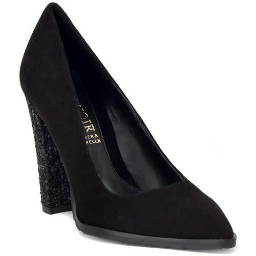 Chaussures Femme Escarpins Café Noir CAFE NOIR DECOLTE NERO Nero