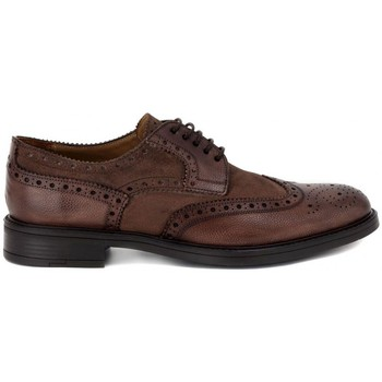 Chaussures Homme Derbies Kammi BRECOS SCOZIA DELAVE' TAUPE Marrone