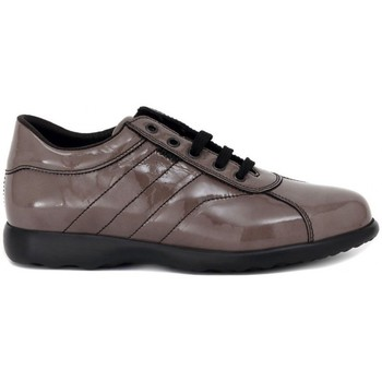 Chaussures Femme Baskets basses Frau SHINE TAUPE Multicolore