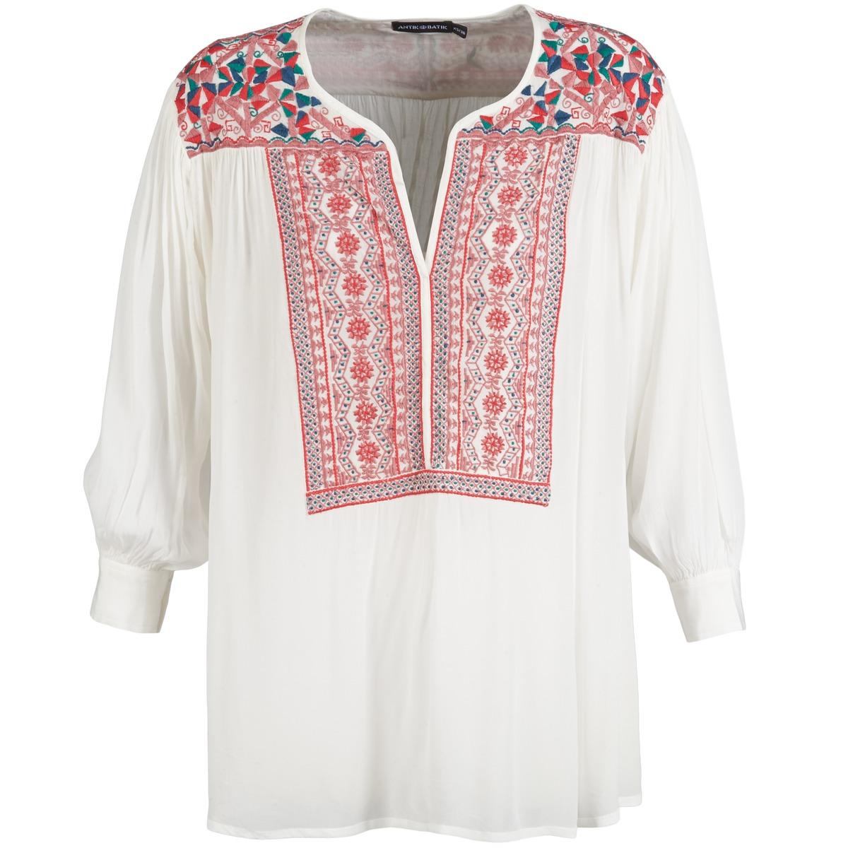 Blouses Antik Batik CAREYES Blanc