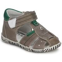 Chaussures Garçon Sandales et Nu-pieds Primigi QUINCY Gris / Vert