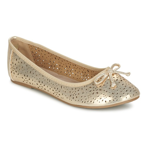 Chaussures Fille Ballerines / babies Xti JANIN Or