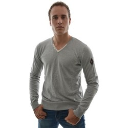 Pulls Dn Sixtyseven pull hiver  sm355 men's v.neck sweater gris