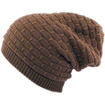 Accessoires textile Homme Bonnets Nyls Création Bonnet Rasta  Marron Marron