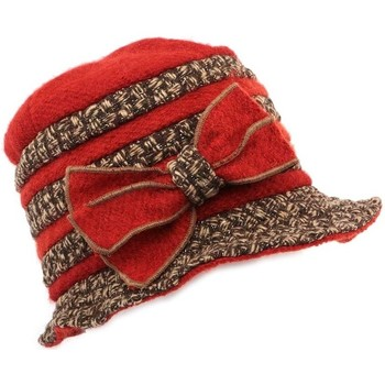 Accessoires textile Femme Chapeaux Léon Montane Chapeau Carla  laine bouillie Rouille Marron