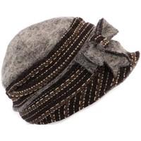 Accessoires textile Femme Chapeaux Léon Montane Chapeau Célia  en laine bouillie Marron et Beige Marron