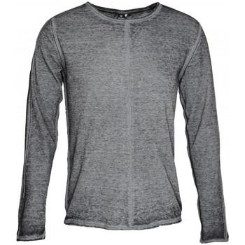 Vêtements Homme T-shirts manches longues Japan Rags T-Shirt manches longues  Brade Black Noir