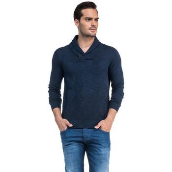 Vêtements Homme Pulls Salsa Pull  SANTIAGO bleu 113456 Bleu