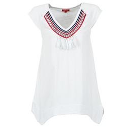 Vêtements Femme T-shirts manches courtes Derhy GALION Blanc