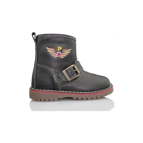 Chaussures Enfant Boots Pablosky TOMCAT BOTTE NOIR