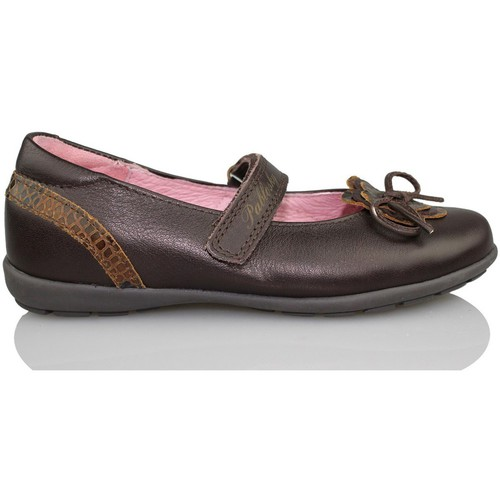 Chaussures Fille Ballerines / babies Pablosky OPERA BRUN