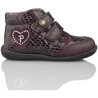 Chaussures Fille Boots Pablosky VIPERA ROUGE