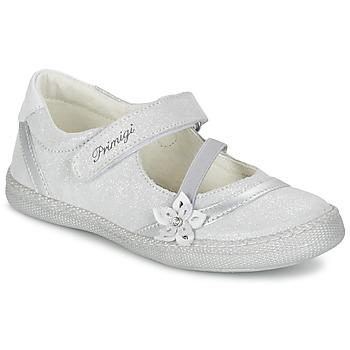 Chaussures Fille Ballerines / babies Primigi ROSELINE-E Argent