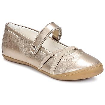 Chaussures Fille Ballerines / babies Primigi LISBONA 1-E Bronze