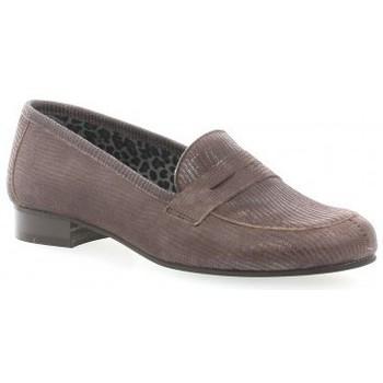 Chaussures Femme Mocassins Pao Mocassins cuir laminé Marron