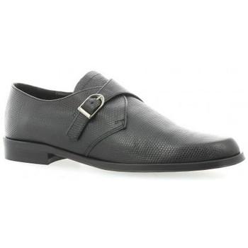 Chaussures Femme Derbies Elizabeth Stuart Derby cuir croco Noir