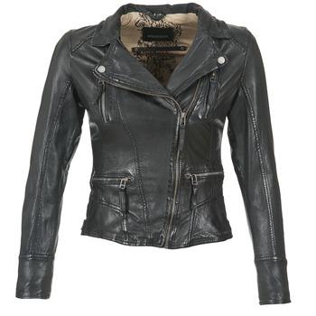 Vêtements Femme Vestes en cuir / synthétiques Oakwood CAMERA Noir