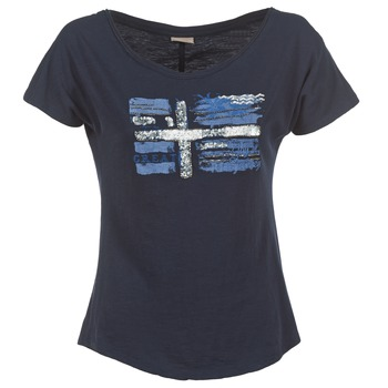 Vêtements Femme T-shirts manches courtes Napapijri SINK Marine