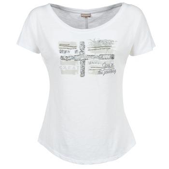 Vêtements Femme T-shirts manches courtes Napapijri SINK Blanc