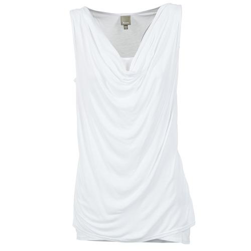 Vêtements Femme Débardeurs / T-shirts sans manche Bench DUPLE Blanc
