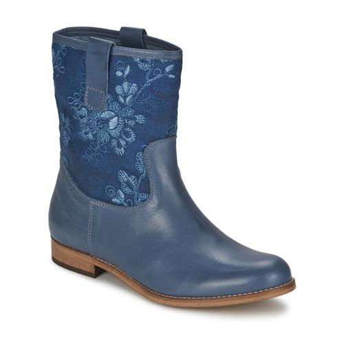 Chaussures Femme Boots Alba Moda FALINA Bleu