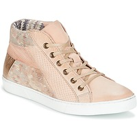Chaussures Femme Baskets montantes Dream in Green MOLIMELA Beige rosé