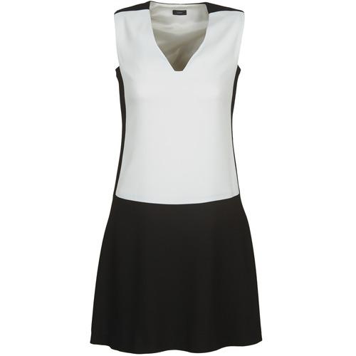 Vêtements Femme Robes courtes Joseph DORIA Noir / blanc