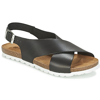 Chaussures Femme Sandales et Nu-pieds Dixie OLBIA Noir