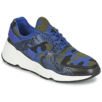 Chaussures Femme Baskets basses Ash MATRIX Bleu camouflage