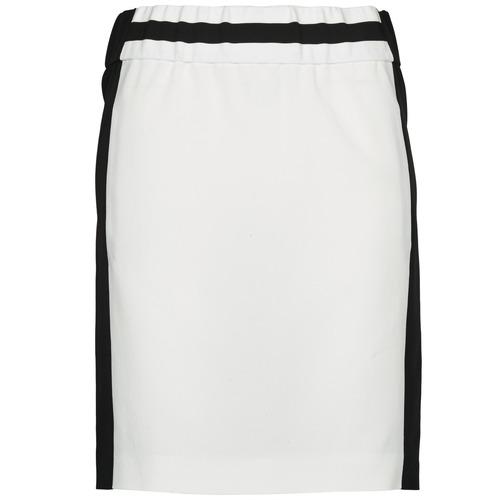 Vêtements Femme Jupes Joseph RIA-TECHNO Noir / Blanc