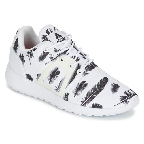 Chaussures Baskets basses Asfvlt SUPERTECH Blanc / Noir