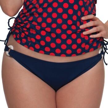 Vêtements Femme Maillots de bain séparables Curvy Kate Bas de maillot de bain uni Plain Sailing Ink Bleu / Turquoise