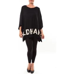Vêtements Femme Pulls De Fil En Aiguille Poncho DH3122 noir Noir