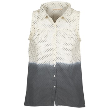 Vêtements Femme Chemises / Chemisiers Teddy Smith CAMILLE Bleu / Ecru