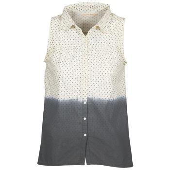 Tops & Chemises  Teddy Smith CAMILLE Bleu / Ecru 350x350