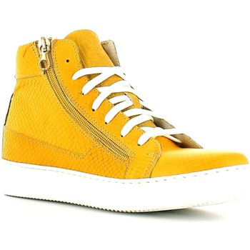 Chaussures Femme Baskets montantes Rogers 1988 Sneakers Femmes Jaune Jaune