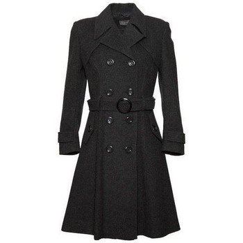Vêtements Femme Trenchs De La Creme Cachmire Manteau Grey