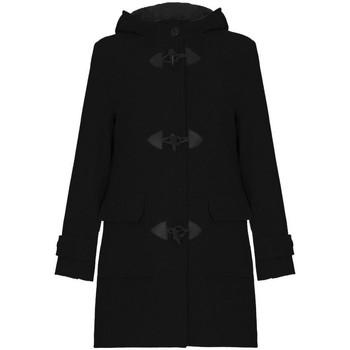 Vêtements Femme Manteaux De La Creme Duffle-coat à d'hiver en laine et cachemire Black
