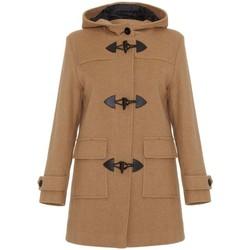 Vêtements Femme Manteaux De La Creme Duffle-coat à d'hiver en laine et cachemire BEIGE