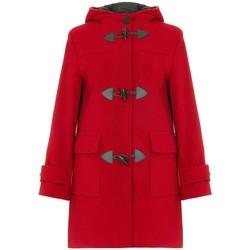 Vêtements Femme Manteaux De La Creme Cachmire Duffle Red