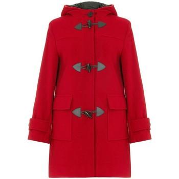 Vêtements Femme Manteaux De La Creme Duffle-coat à d'hiver en laine et cachemire Red