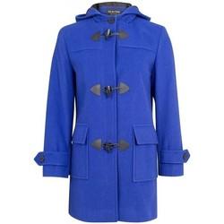 Vêtements Femme Manteaux De La Creme Duffle-coat à d'hiver en laine et cachemire Blue