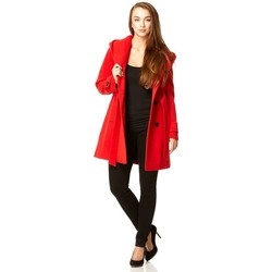 Vêtements Femme Parkas De La Creme parent Rouge