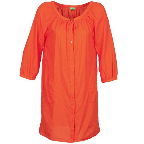 Vêtements Femme Robes courtes Bensimon FOURTY Orange