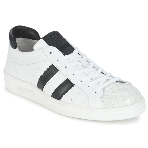 Baskets mode Bikkembergs BOUNCE 594 LEATHER Blanc / Noir 350x350