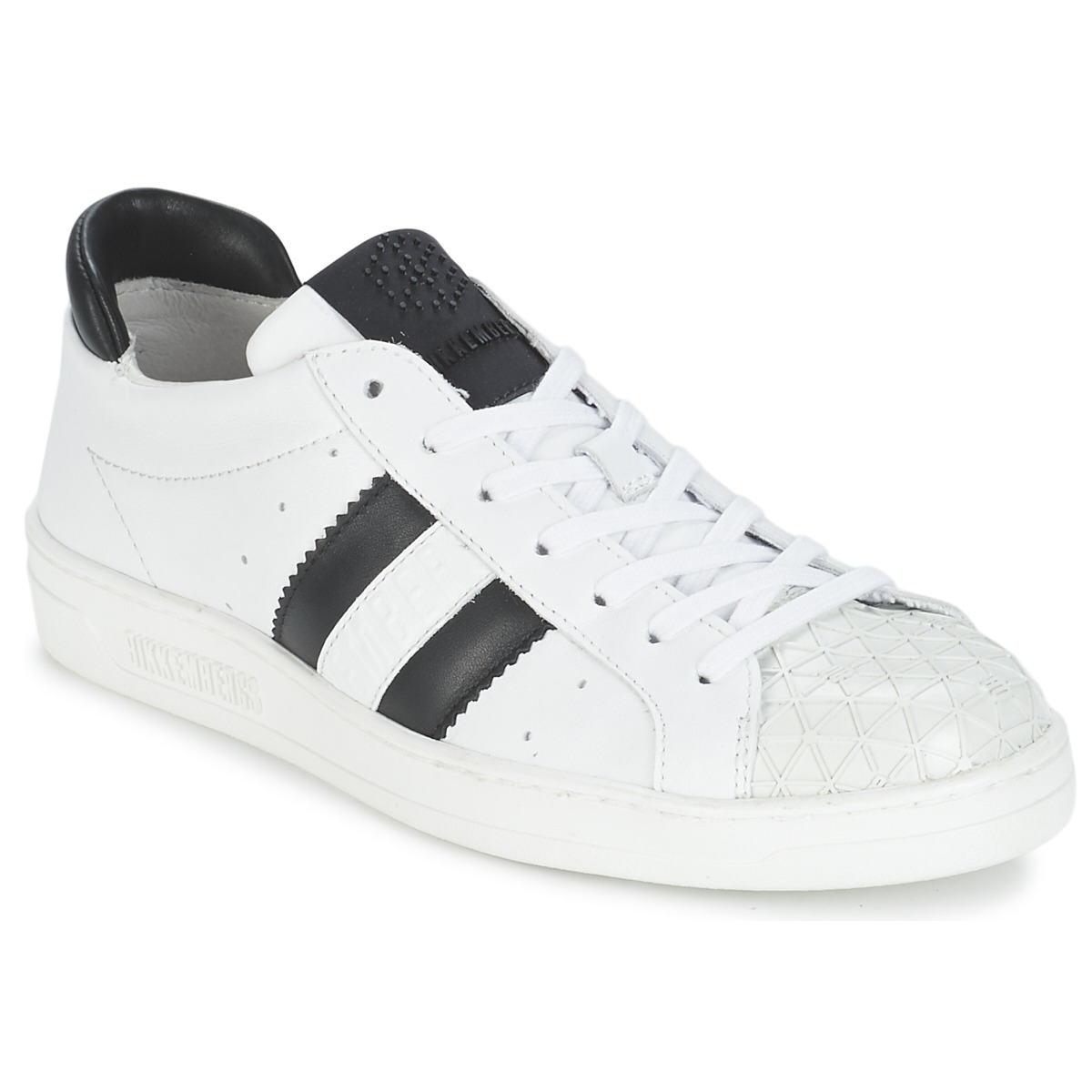 Bikkembergs BOUNCE 594 LEATHER Blanc / Noir